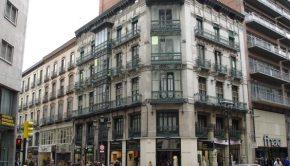 El Coso a la altura de la Calle Alfonso