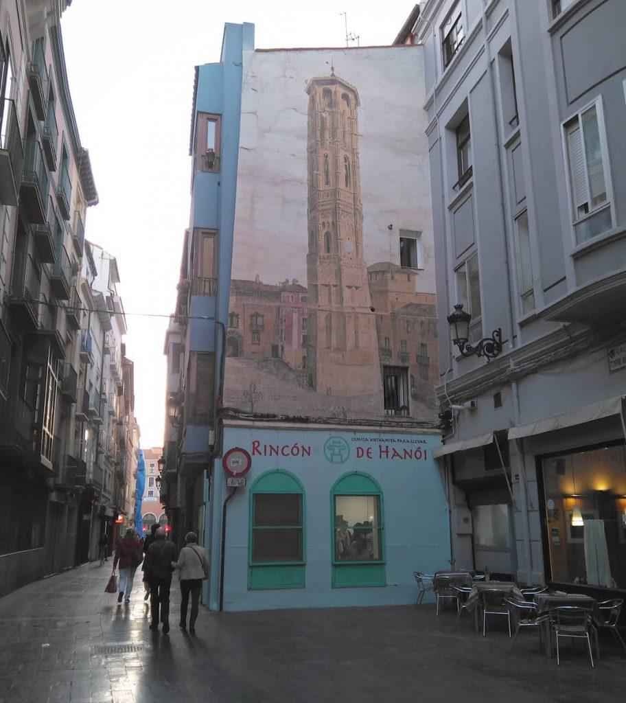La Torre Nueva de Zaragoza
