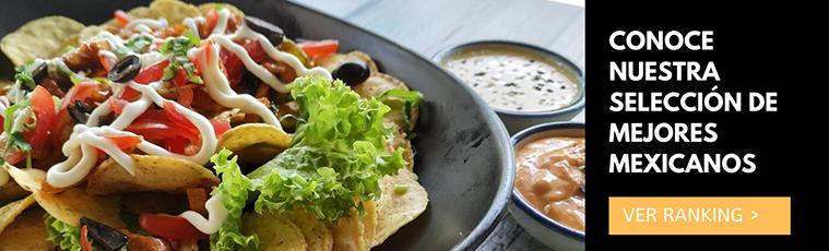 ranking seleccion de mejores restaurantes mexicanos en zaragoza