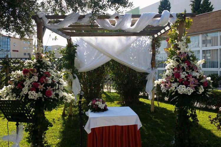 restaurantes para bodas en Zaragoza hotel el aguila