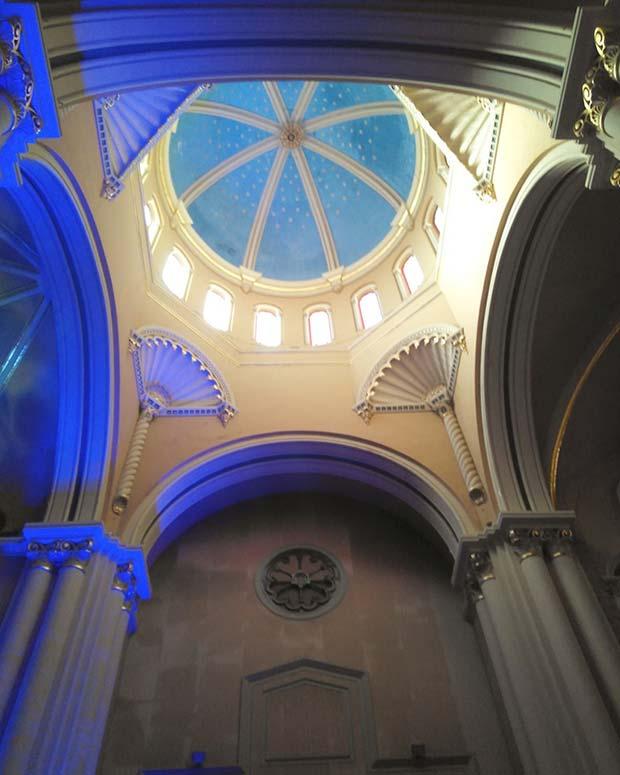 Sala de la Corona del Edificio Pignatelli