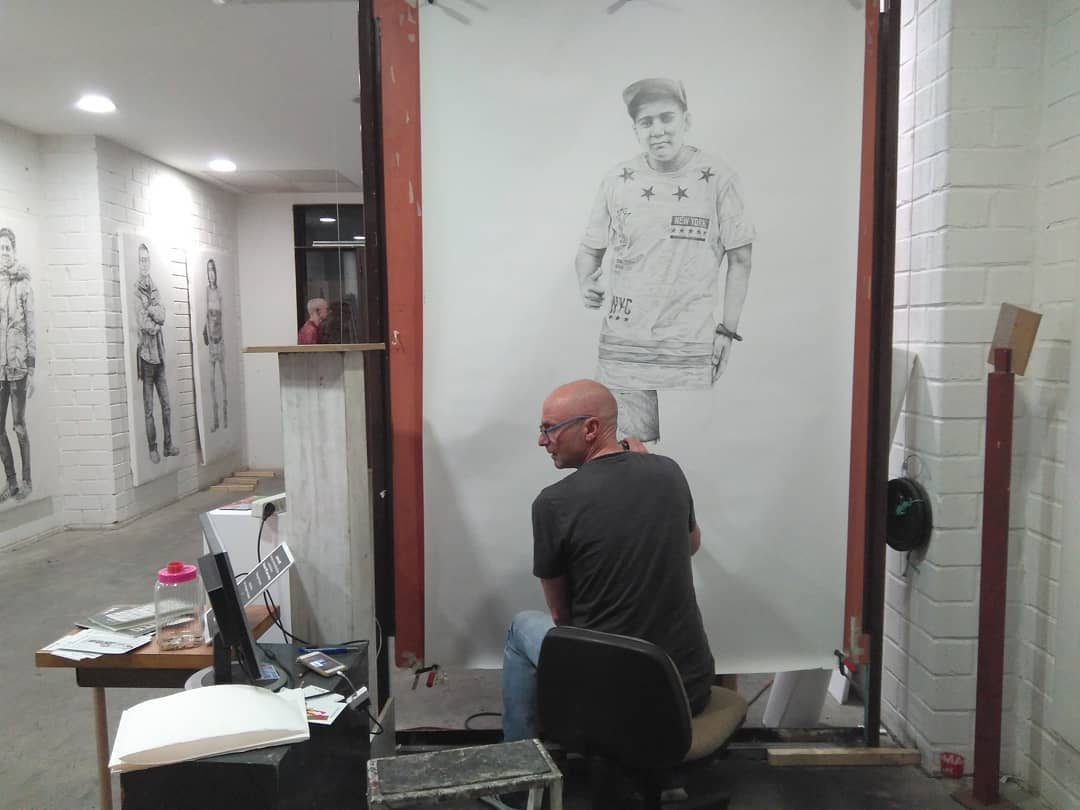 Estudio-taller del artista Steve Gibson