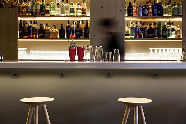 Interiorismo del Ginger Fizz Bar