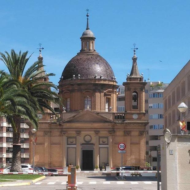 La Iglesia de San Fernando en Zaragoza fue impulsada por Ramón Pignatelli