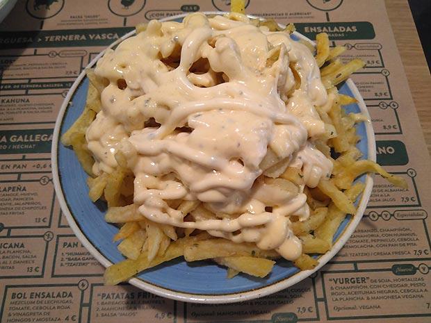 Patatas Caseras en el Jalos
