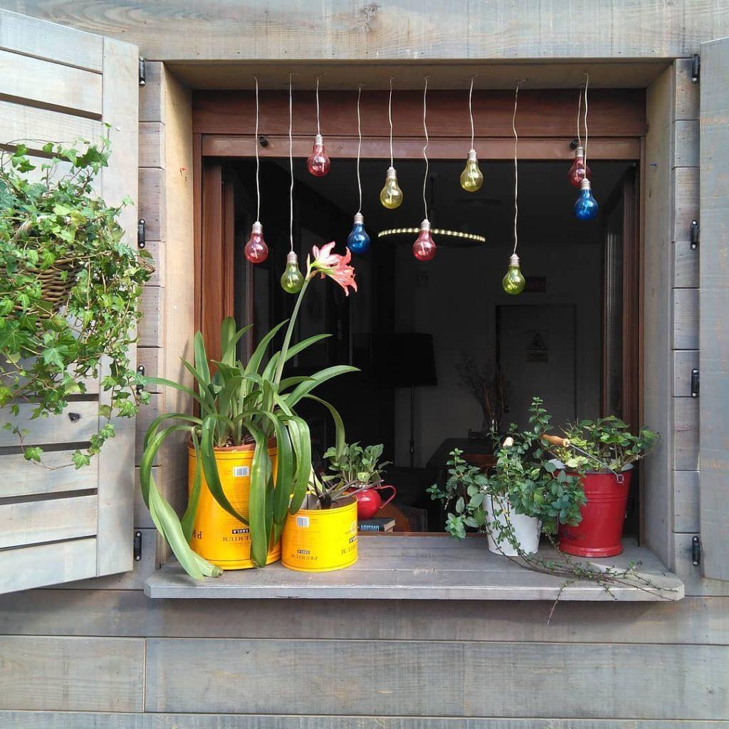 Terraza de la Cafetería Marianela