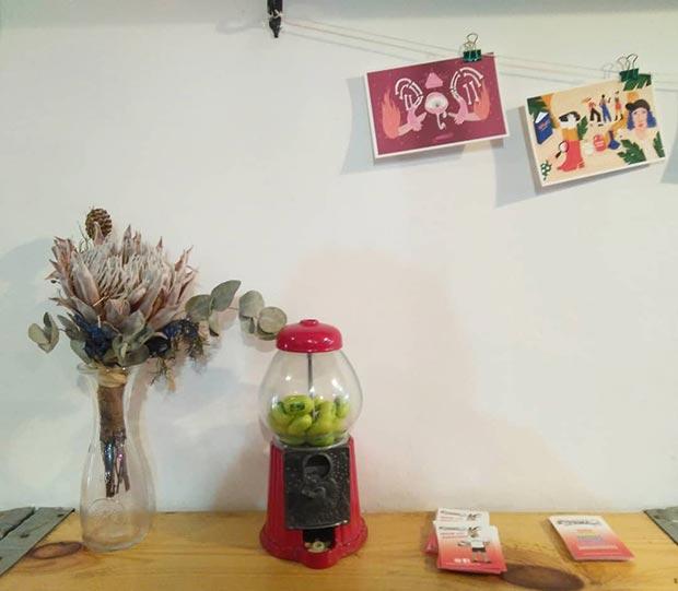 decoracion cafeteria marianela zaragoza