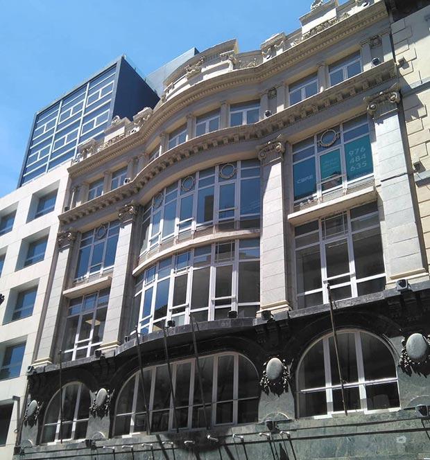 """El edificio """"El Águila"""""""