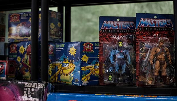 masters del universo en juguetear zaragoza