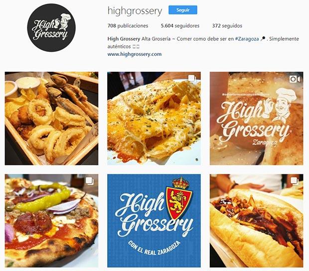 mejores cuentas instagram zaragoza high grossery