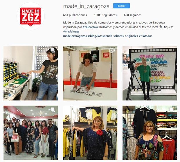 mejores cuentas instagram zaragoza made in zaragoza