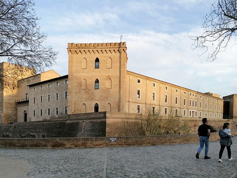 Parte posterior y fachada oriental