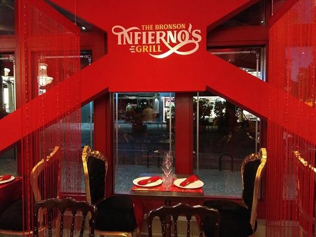 The Bronson Infierno's Grill Zaragoza