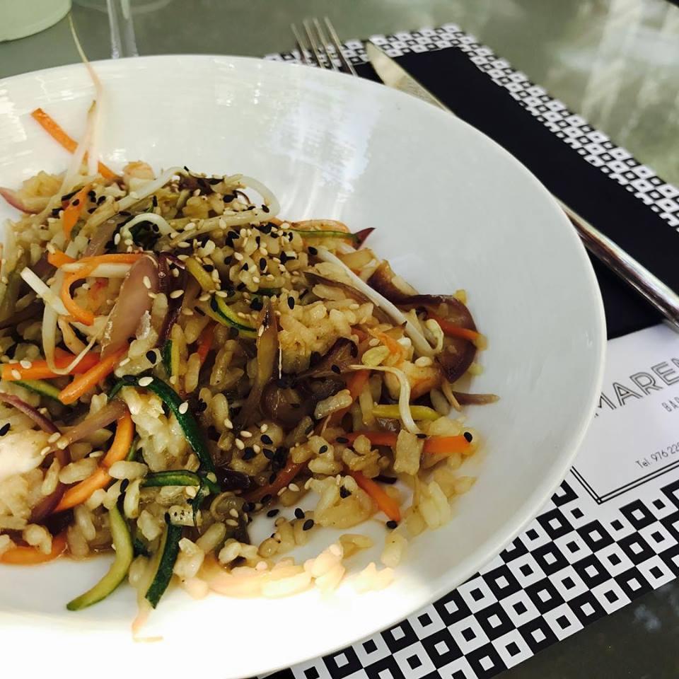 Wok en el Restaurante Marengo