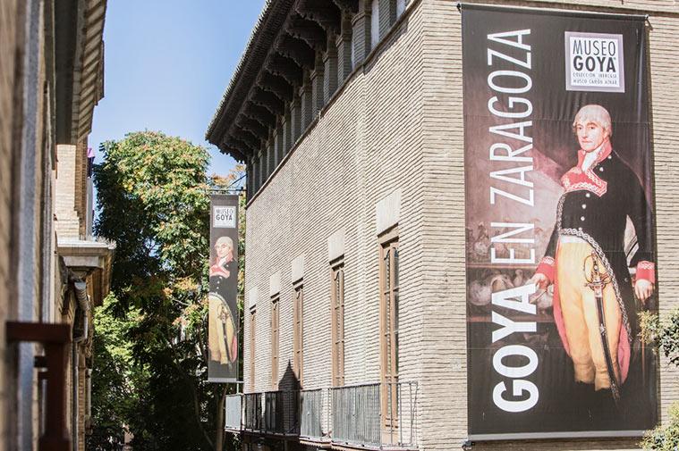 fachada del museo goya zaragoza