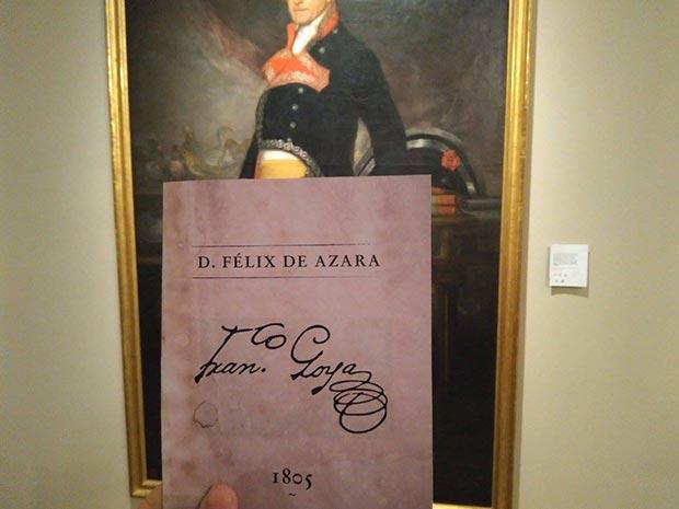Encontramos la última señal en el retrato de Felix de Azara