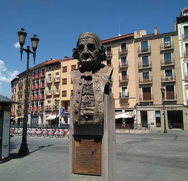 Monumento al Conde de Aranda en Zaragoza