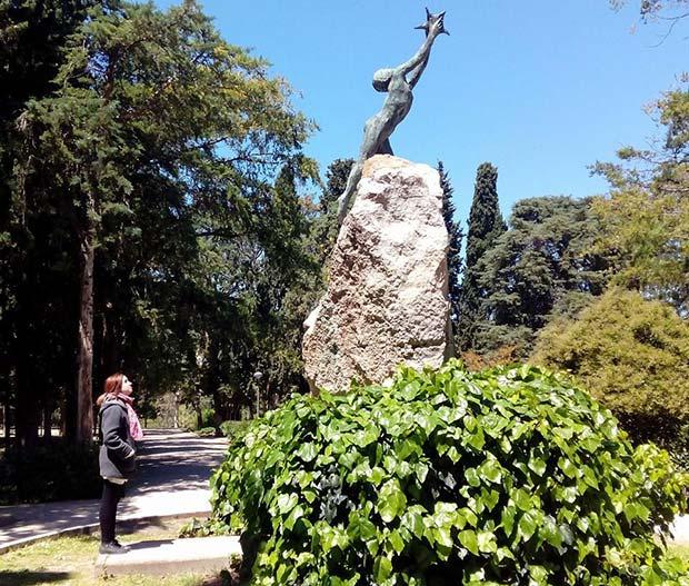 """""""Niño con Estrella"""", un precioso homenaje a Ruben Dario obra de Ángel Orensanz"""