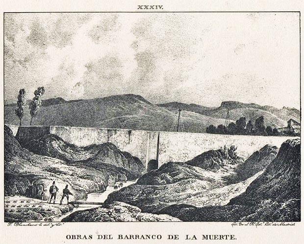 """""""Memoria histórica del Canal imperial de Aragon: noticia sobre las utilidades que produce, y esplicacion de lo que contienen las láminas que se publican"""", Madrid, 1833"""