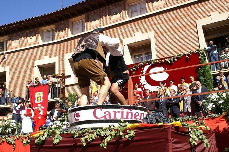 Fiesta de la Vendimia en Cariñena