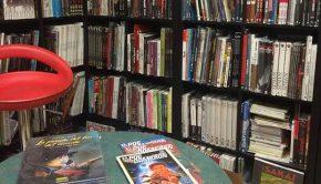 Interior de la Libreria Futuro