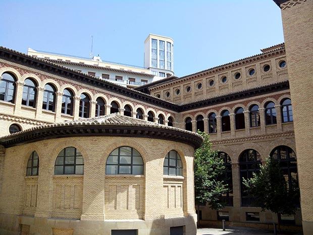 Interior del Paraninfo de Zaragoza