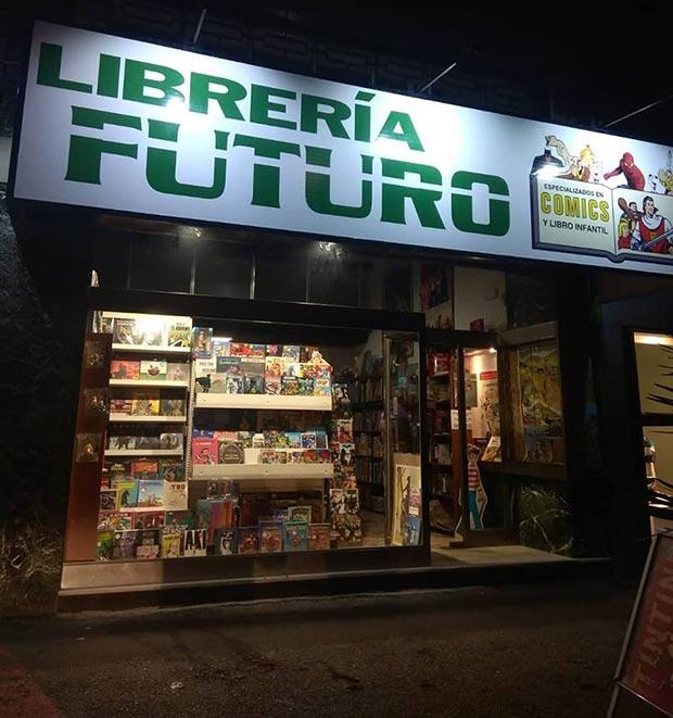 Local de la Librería Futuro
