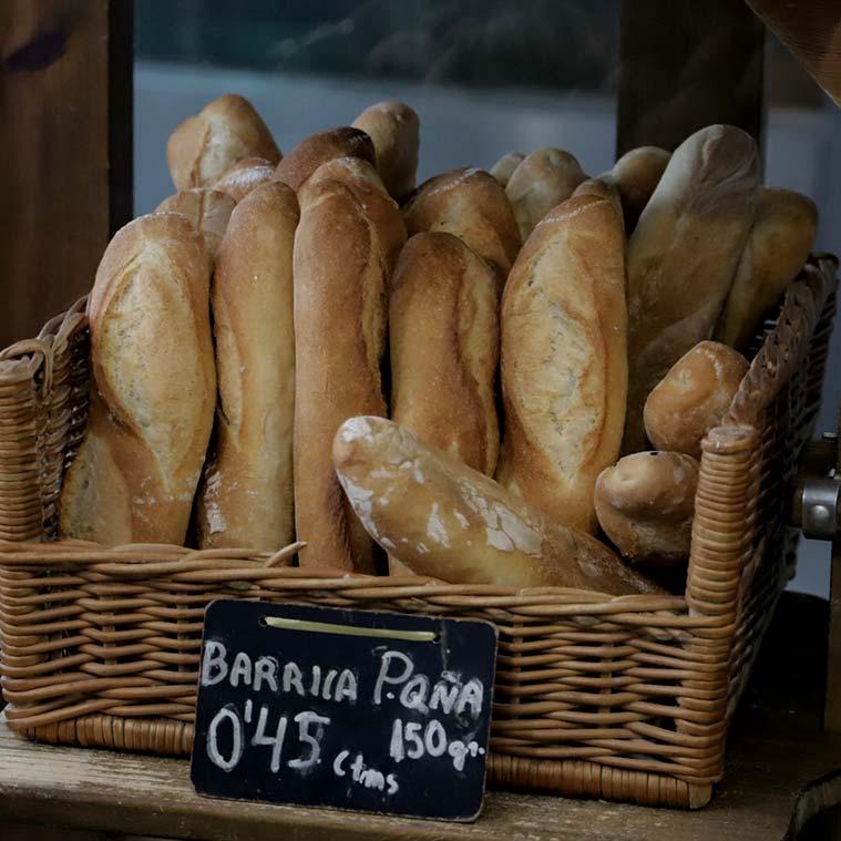 Panadería Simón barras de pan artesano