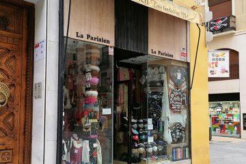 Tienda La Parisien en la Calle Alfonso de Zaragoza