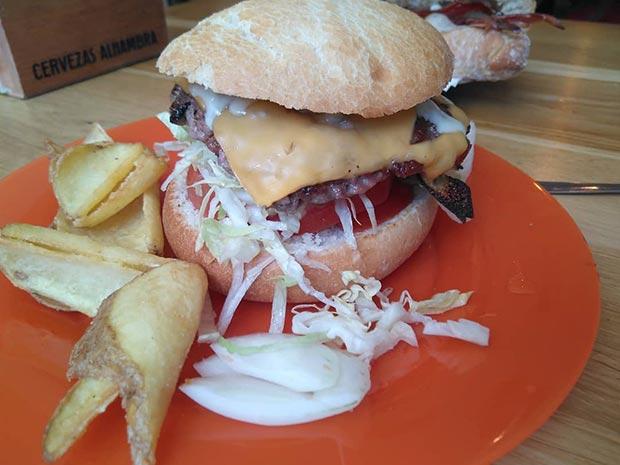 hamburguesa en la bocateria memory