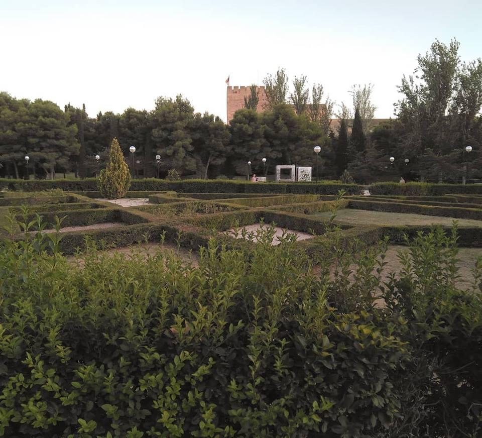 Jardines del Parque de la Aljafería
