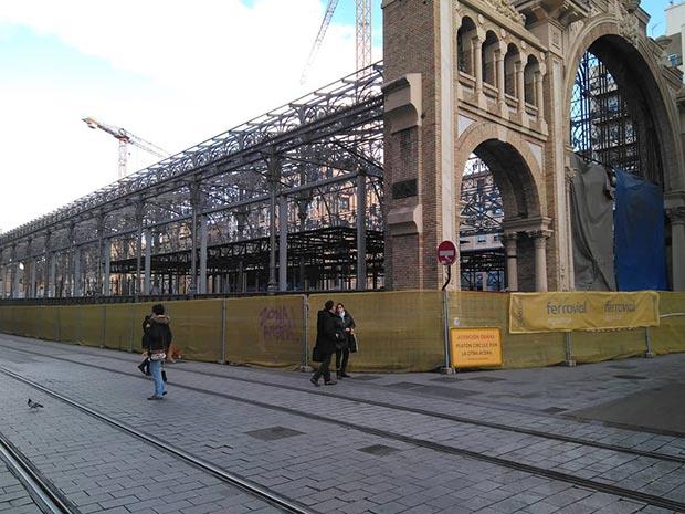 remodelación del mercado central de zaragoza