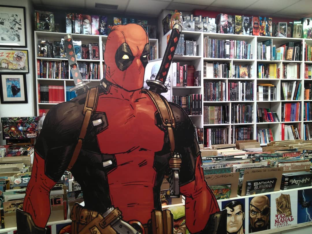 tiendas de comics en zaragoza