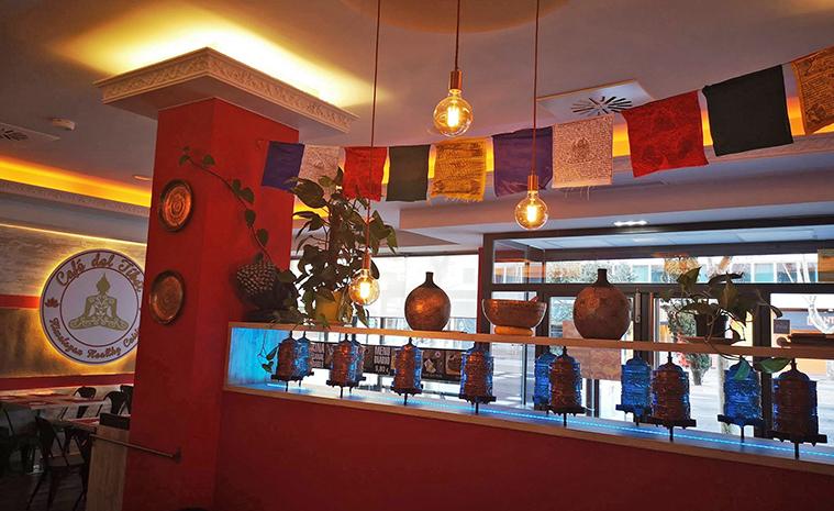Comedor del Café del Tíbet, Gómez Laguna 22