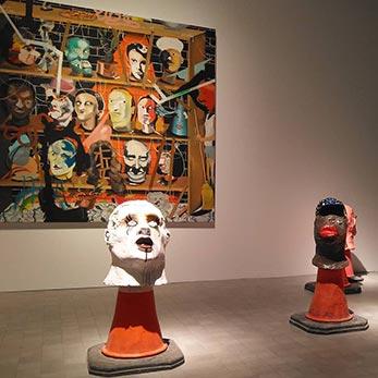Exposición Safari de Yann Leto