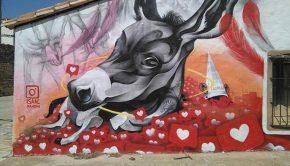 Goya Street Art Musem en Fuendetodos