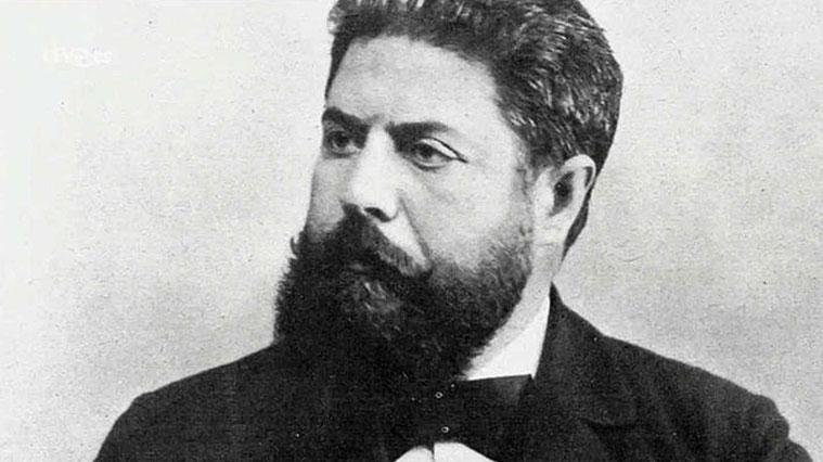 Joaquín Costa fotografiado por Manuel Compañy en 1894