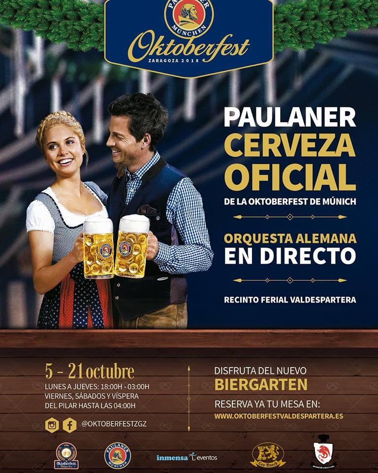 Oktoberfest Valdespartera, la fiesta de la cerveza