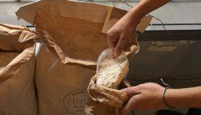 Sin huella', Alimentos ecológicos a granel