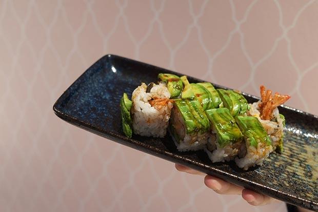 Sushi en el restaurante japones Miss Sushi Gomez Laguna