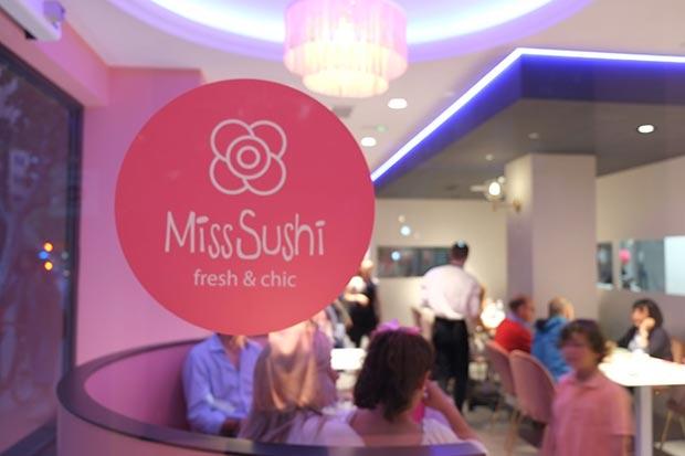 vista del restaurante Miss Sushi Gomez Laguna