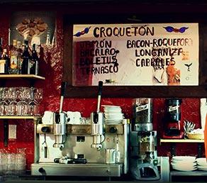 Bar Entalto croquetas calle mayor