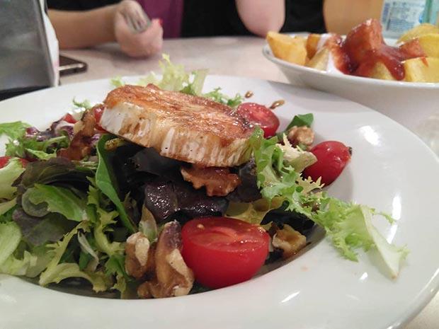 Menú en la Cafetería Restaurante Villa Gomá de Zaragoza