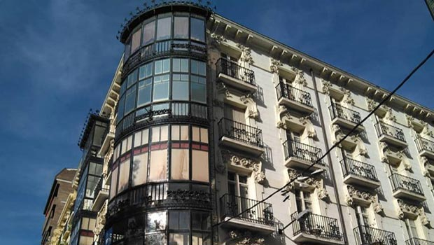 Casa Corsini en el Paseo Sagasta de Zaragoza