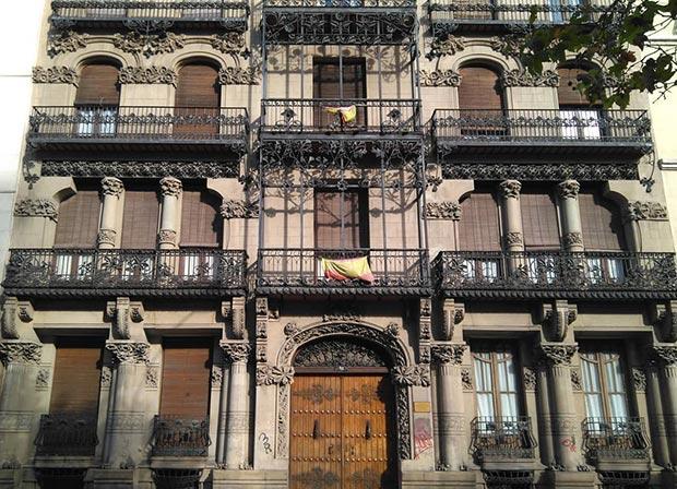 La Casa Juncosa, obra de José de Yarza Echenique
