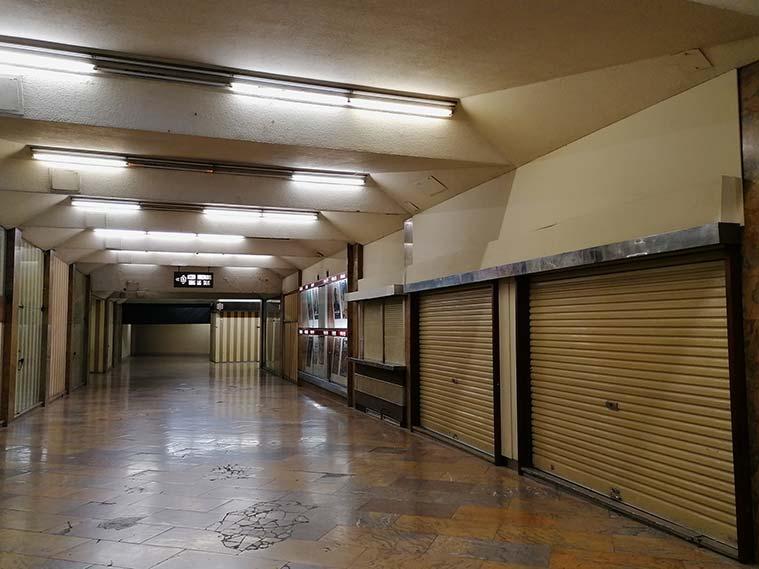 Interior del Pasaje Palafox de Zaragoza