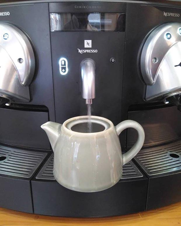 Café o Té en La Cocina de Keyla