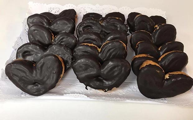La Mar de Cookies palmeras de chocolate sin gluten