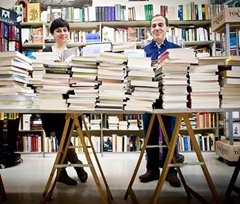Librería Antígona en Zaragoza