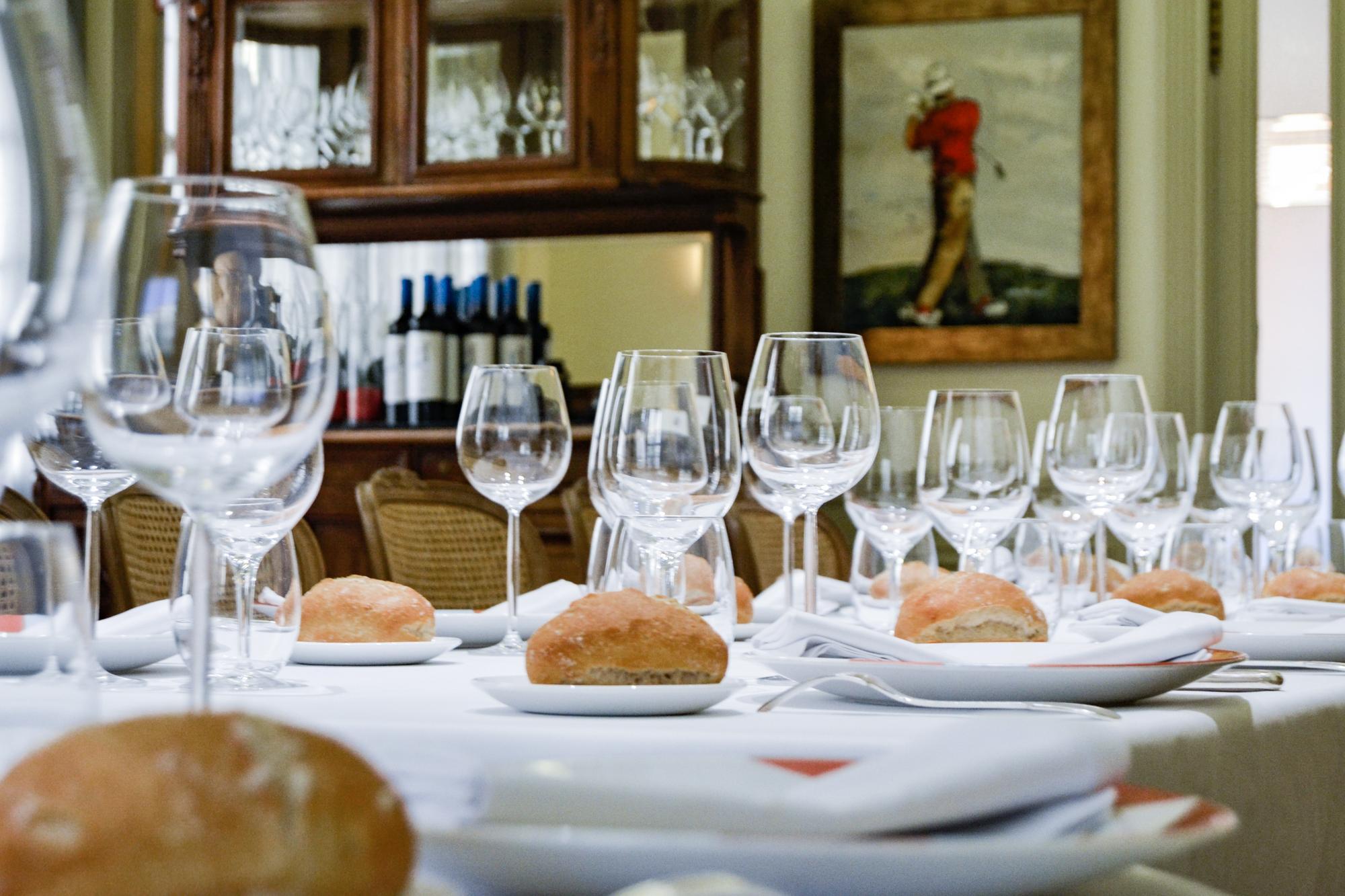 Comedor en el Restaurante El Chalet